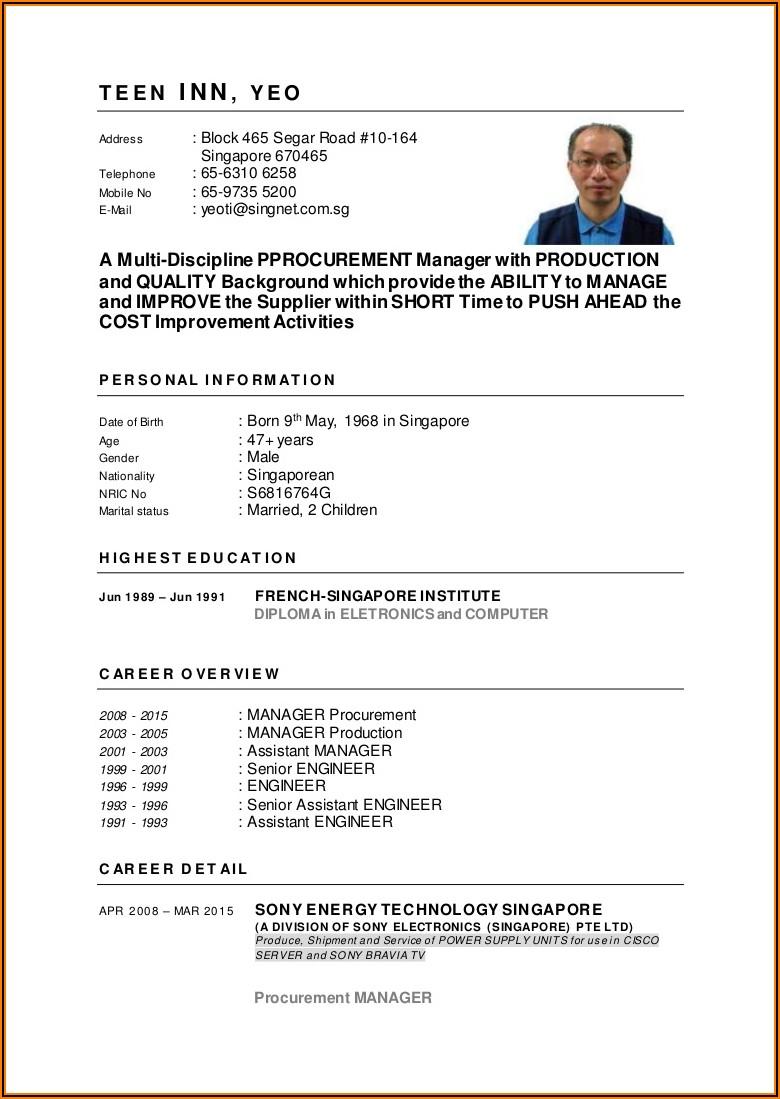 Effective Resume Templates 2020