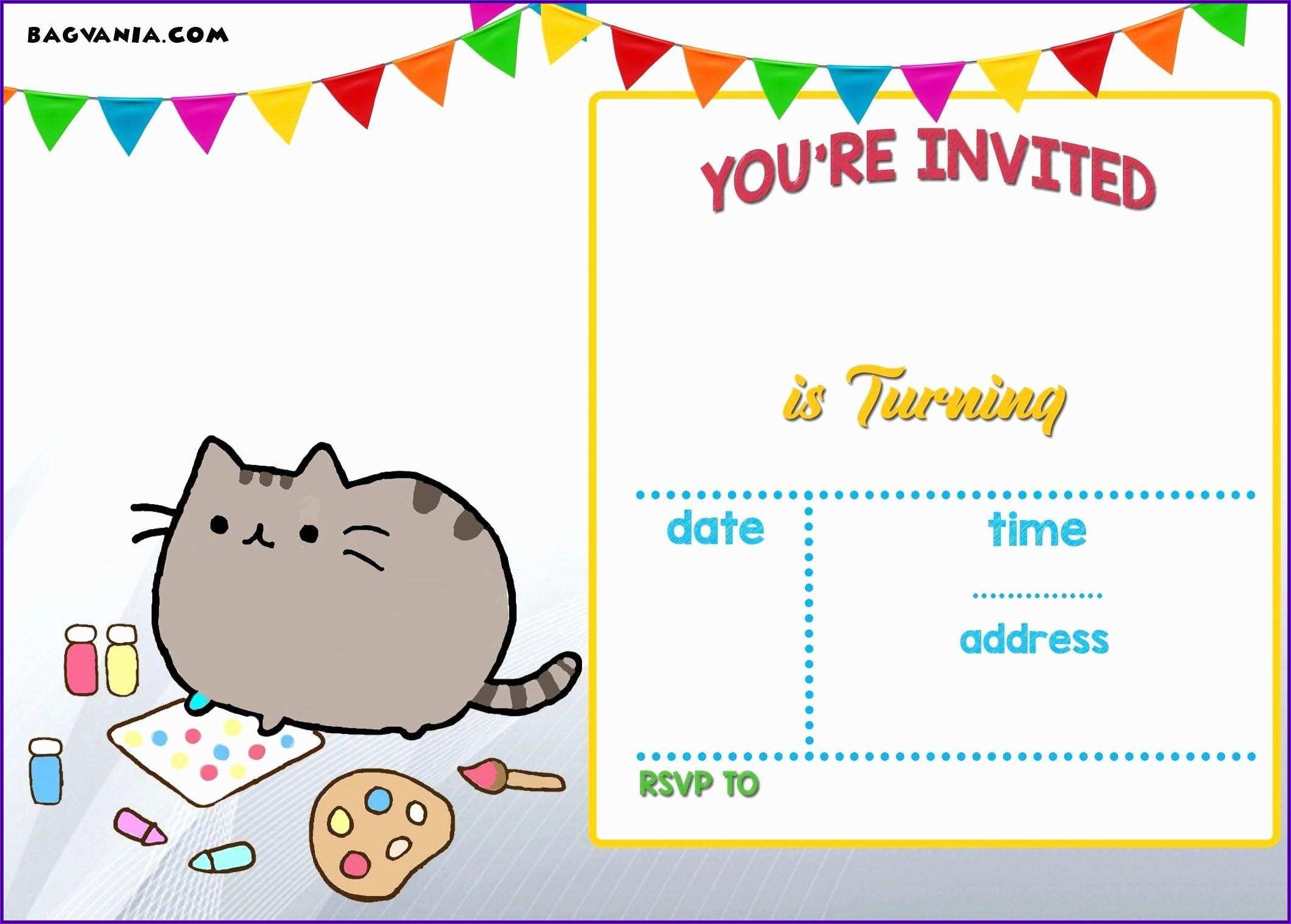Elegant Birthday Invitation Templates Free Printable