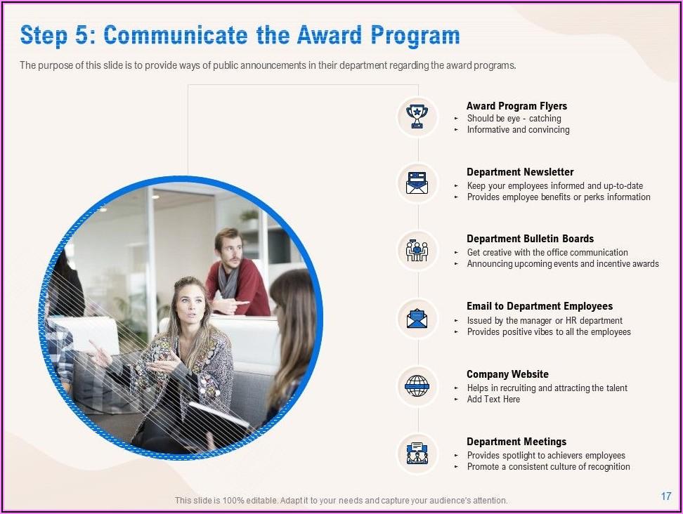 Employee Recognition Program Announcement Sample