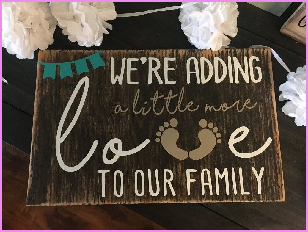 Expecting Baby Announcement Wording