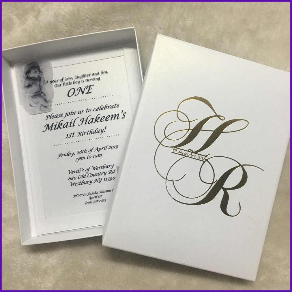 Fancy Birthday Invitation Card