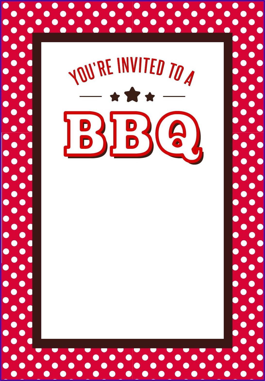 Farewell Bbq Invitation Wording