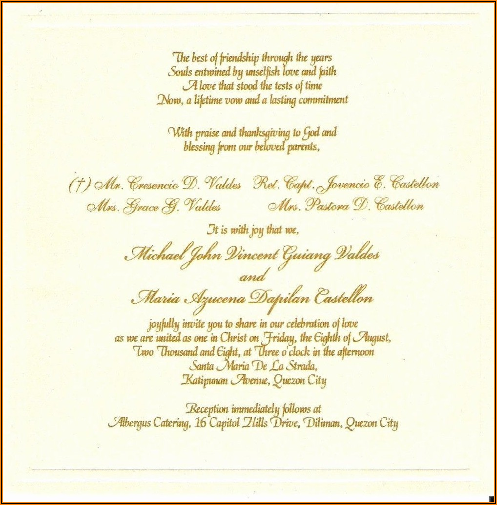 Formal Birthday Party Invitation Wording