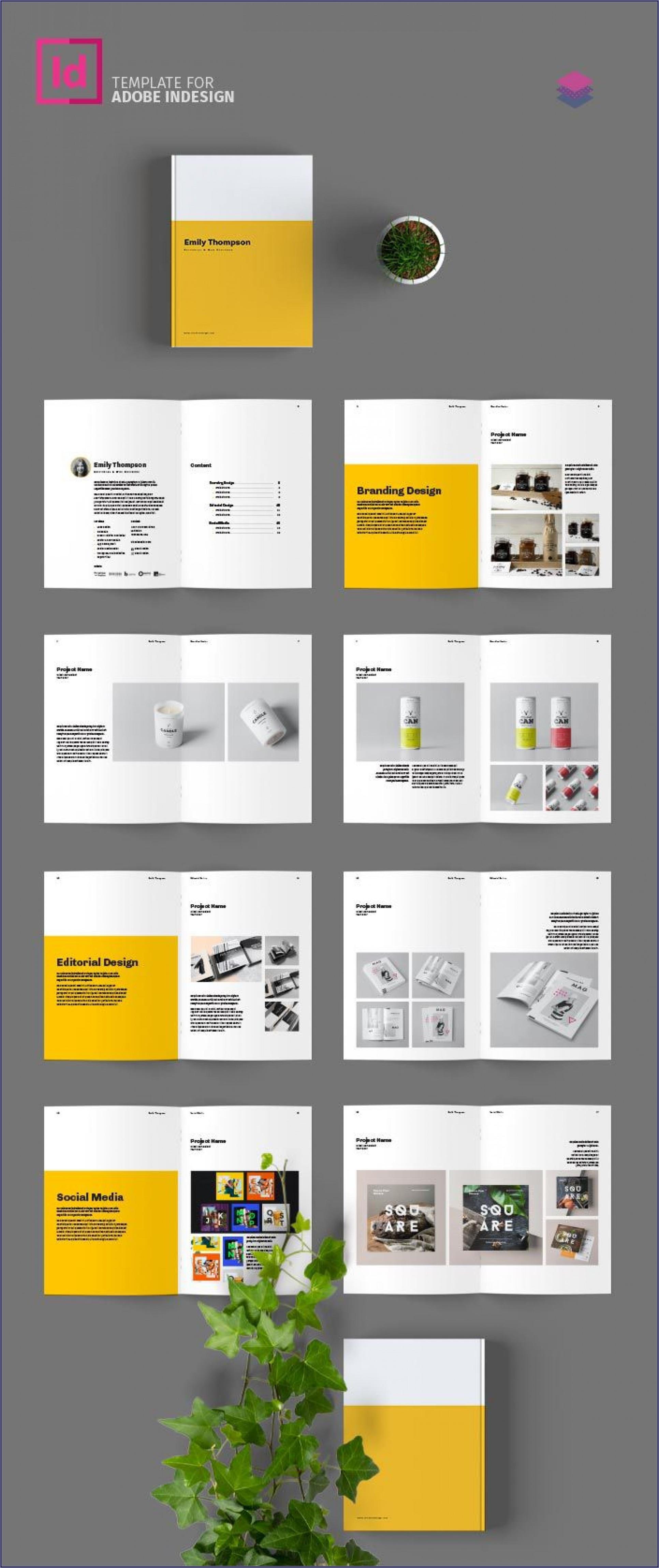 Free Indesign Portfolio Templates Download