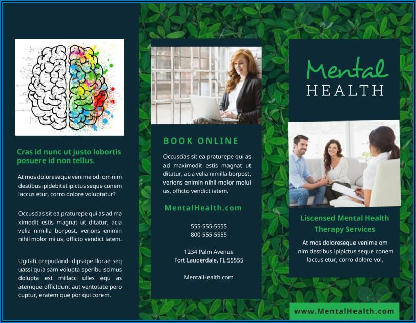 Free Mental Health Brochure Templates