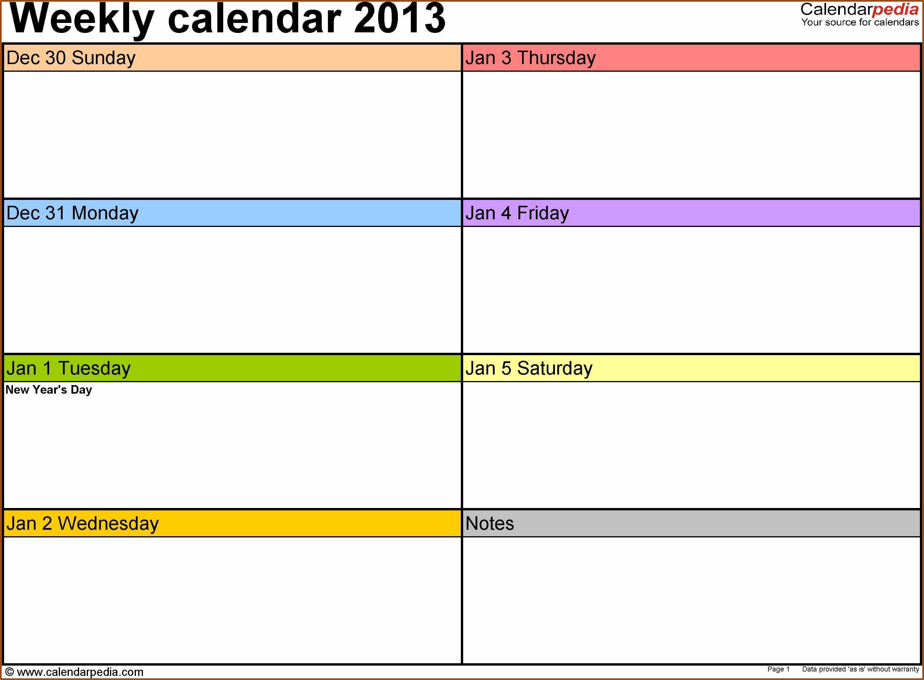 Free Printable Daily Appointment Calendar Template