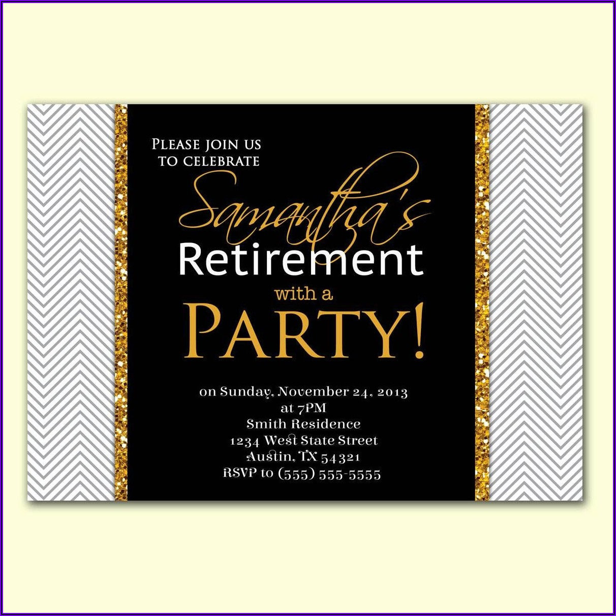 Free Retirement Invitations For Word