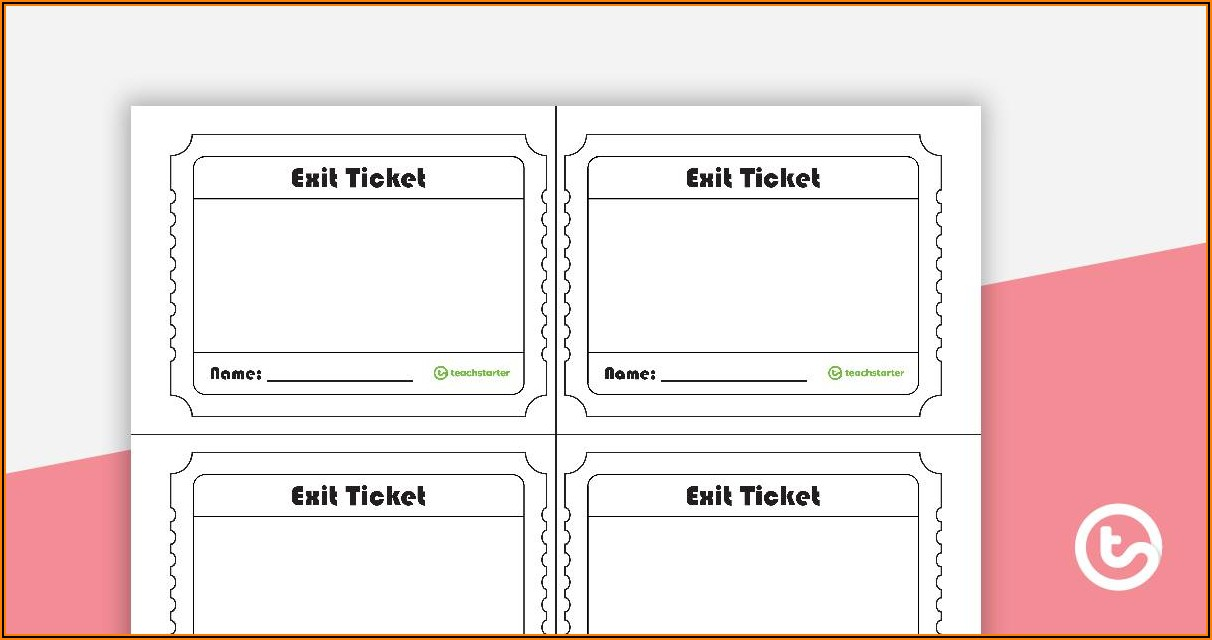 Free Templates For Raffle Tickets With Number