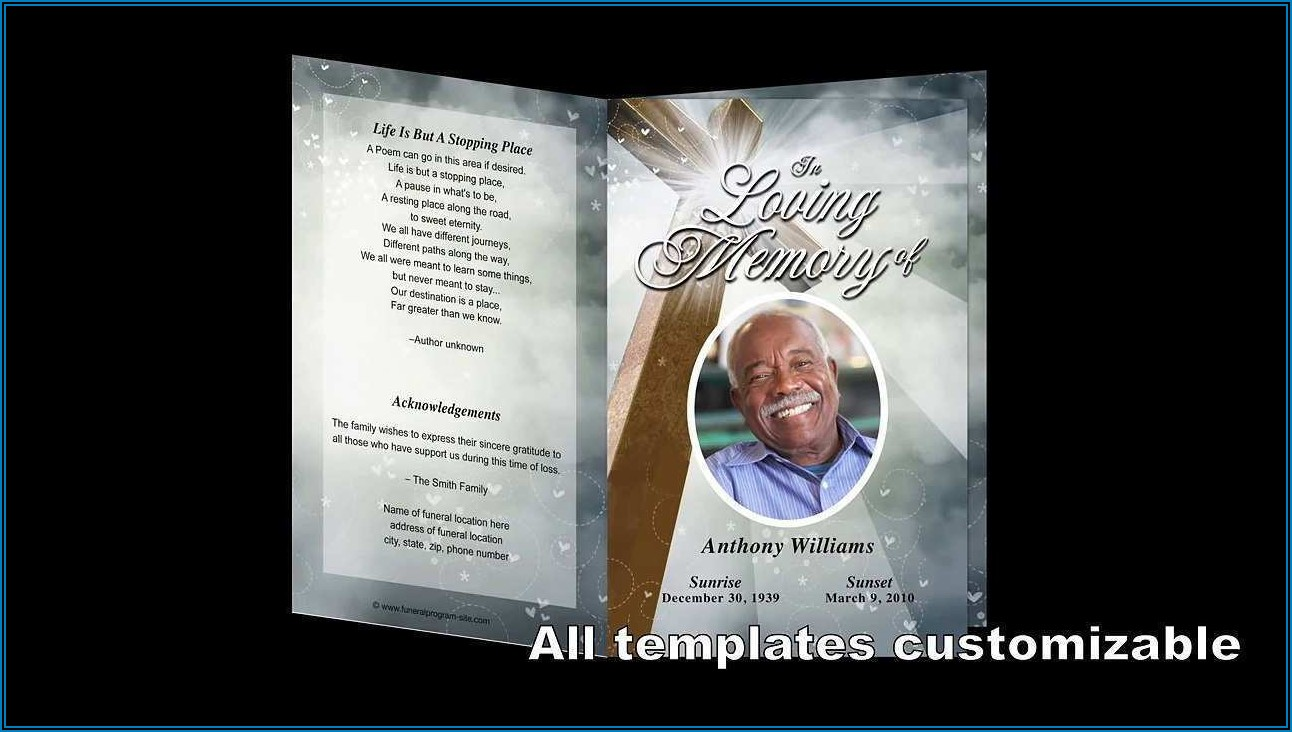 Funeral Flyers Templates Free