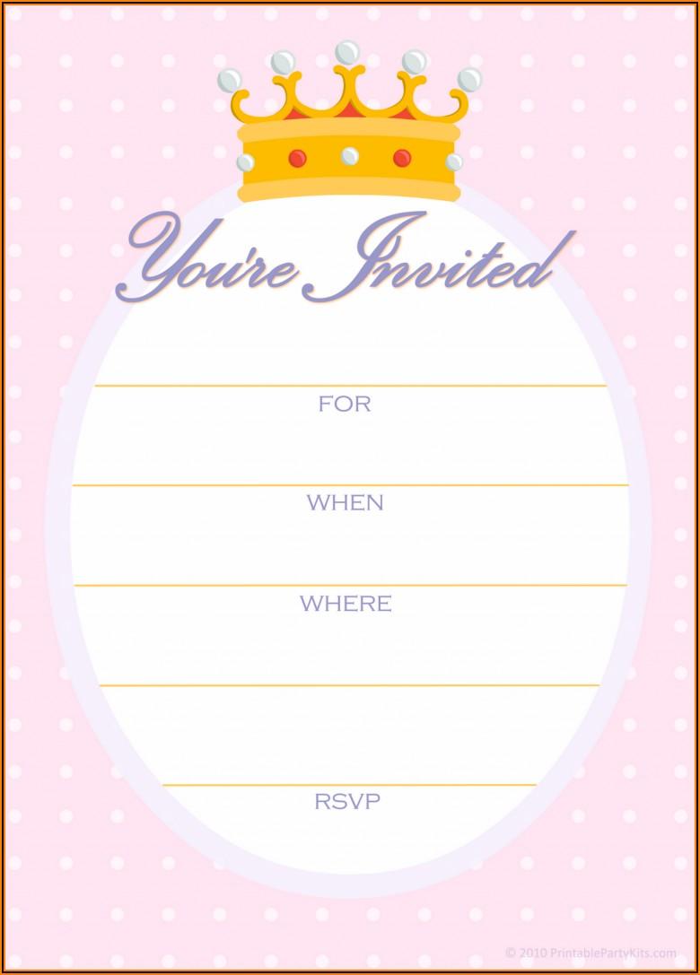 Golden Birthday Invitations Free