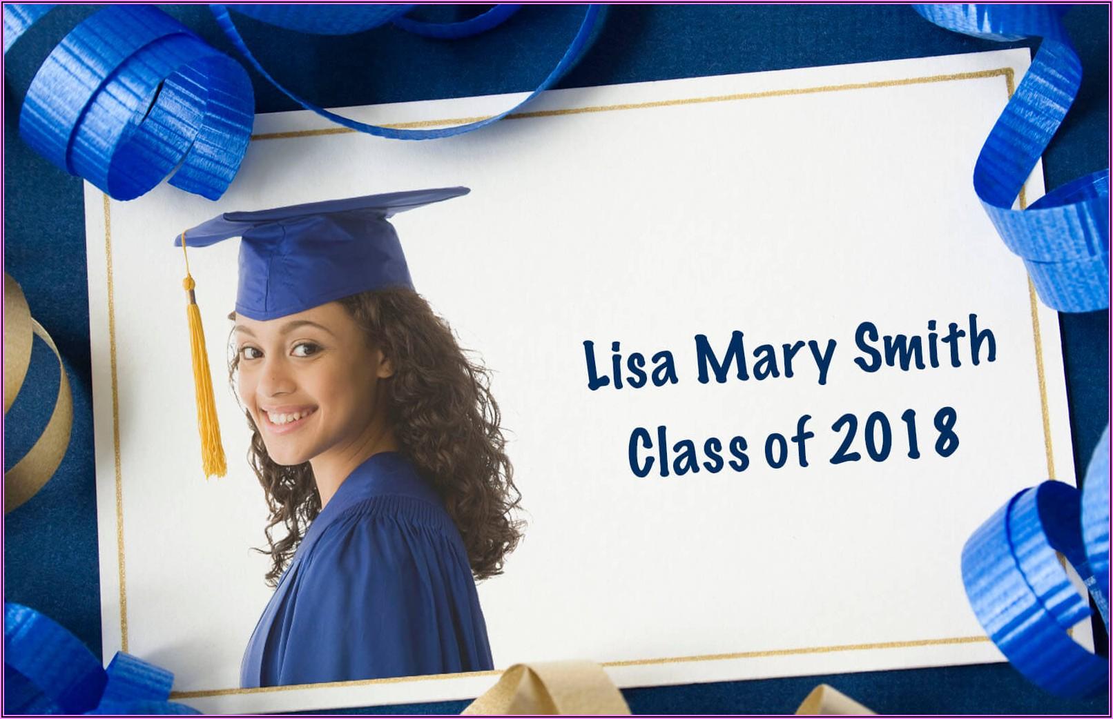 Graduation Announcements Free Downloads
