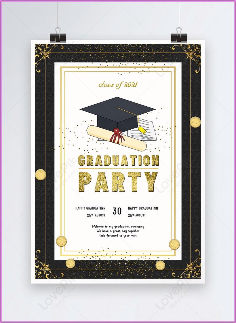 Graduation Invitation Free Download