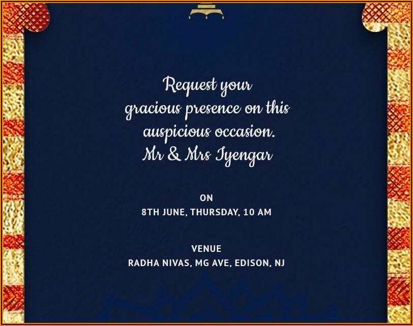 House Warming Invitation Message In Kannada