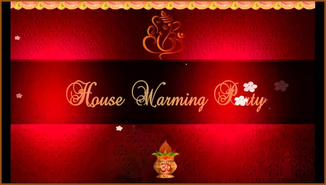 House Warming Invitation Message In Marathi