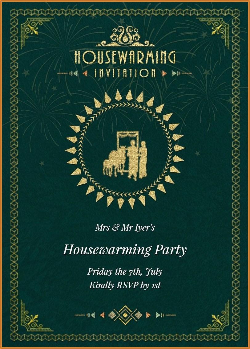 House Warming Invitation Wordings India