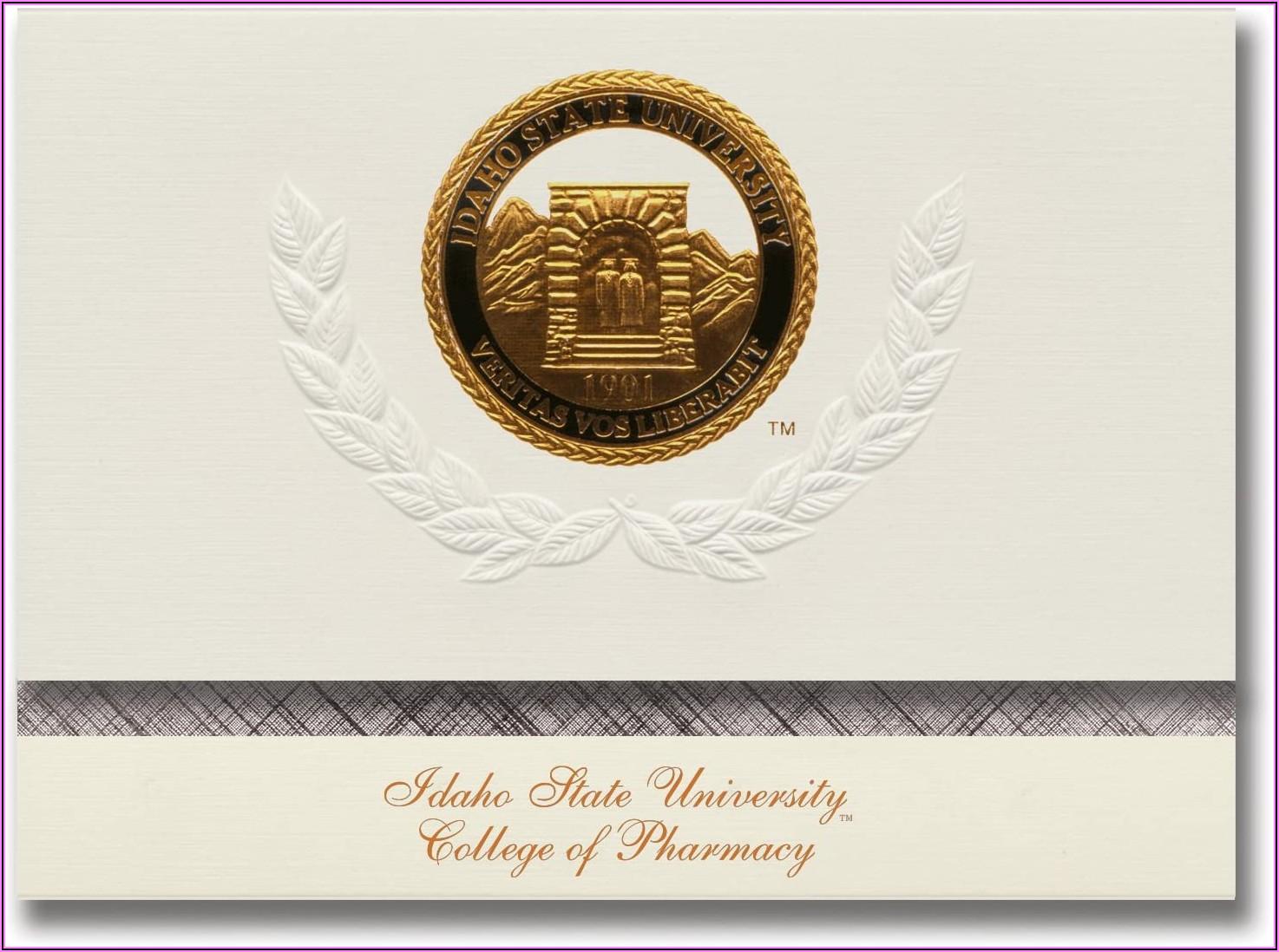 Idaho State University Graduation Announcements