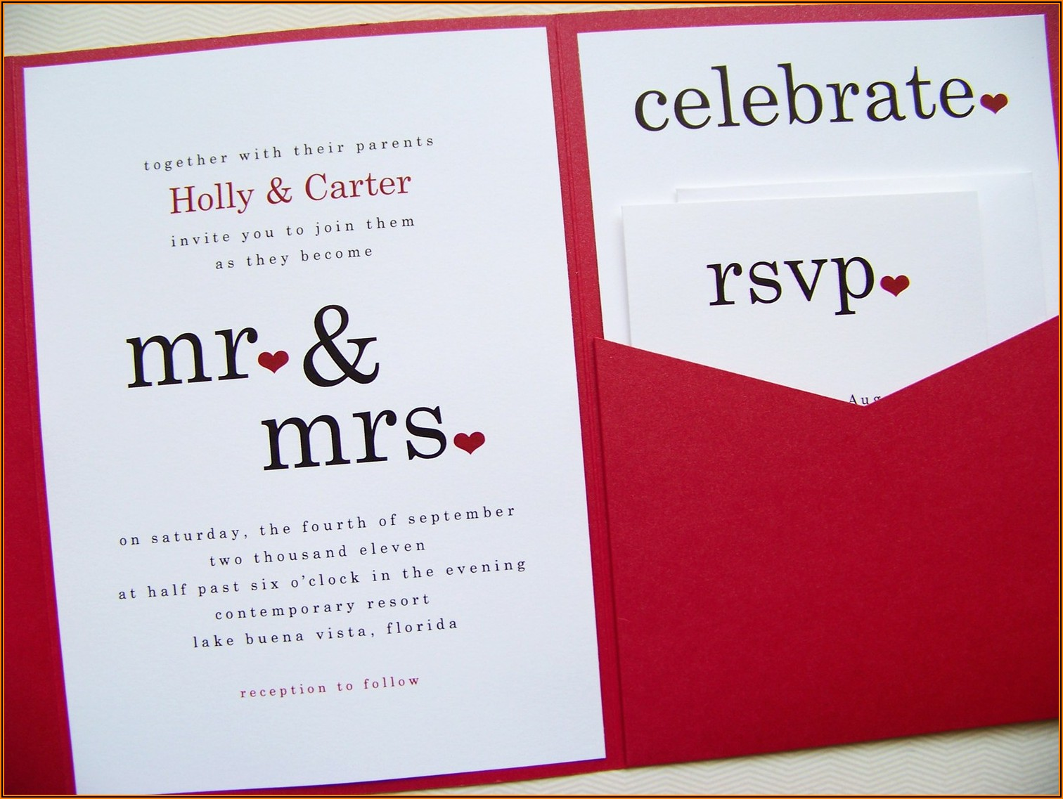 Informal Wedding Invitation Text