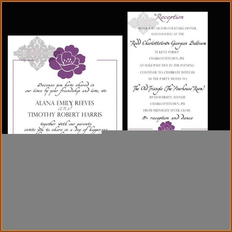 Informal Wedding Invitation Wording For Friends