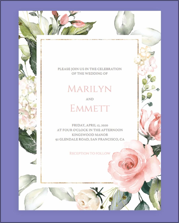 Invitation Cards Template