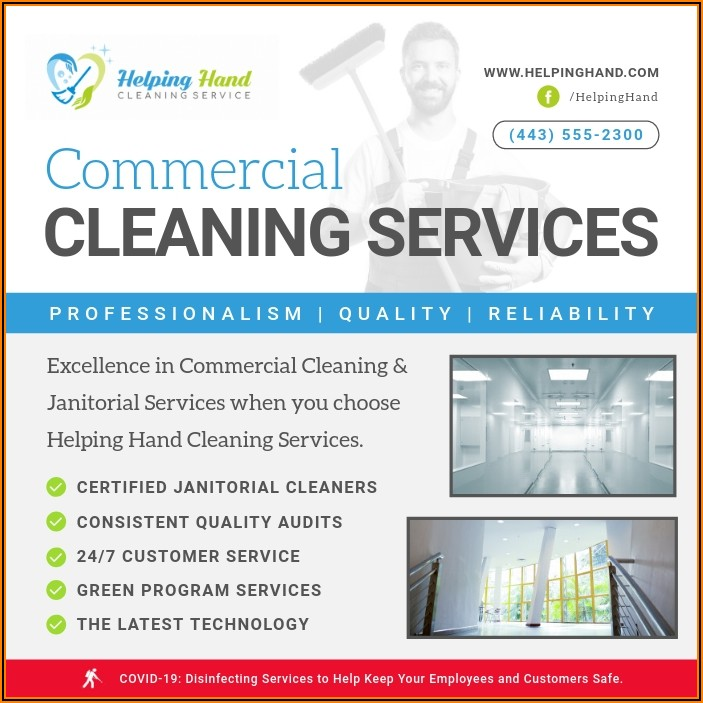 Janitorial Cleaning Schedule Template