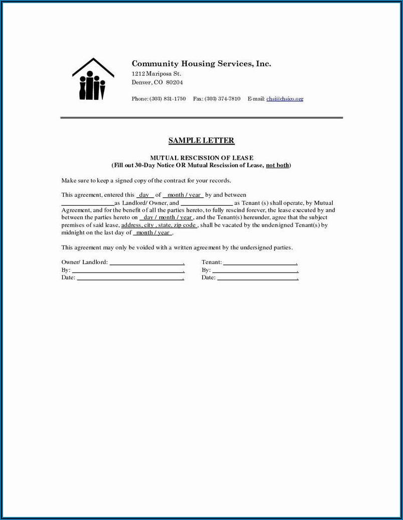 Landlord Tenant Rental Agreement Form