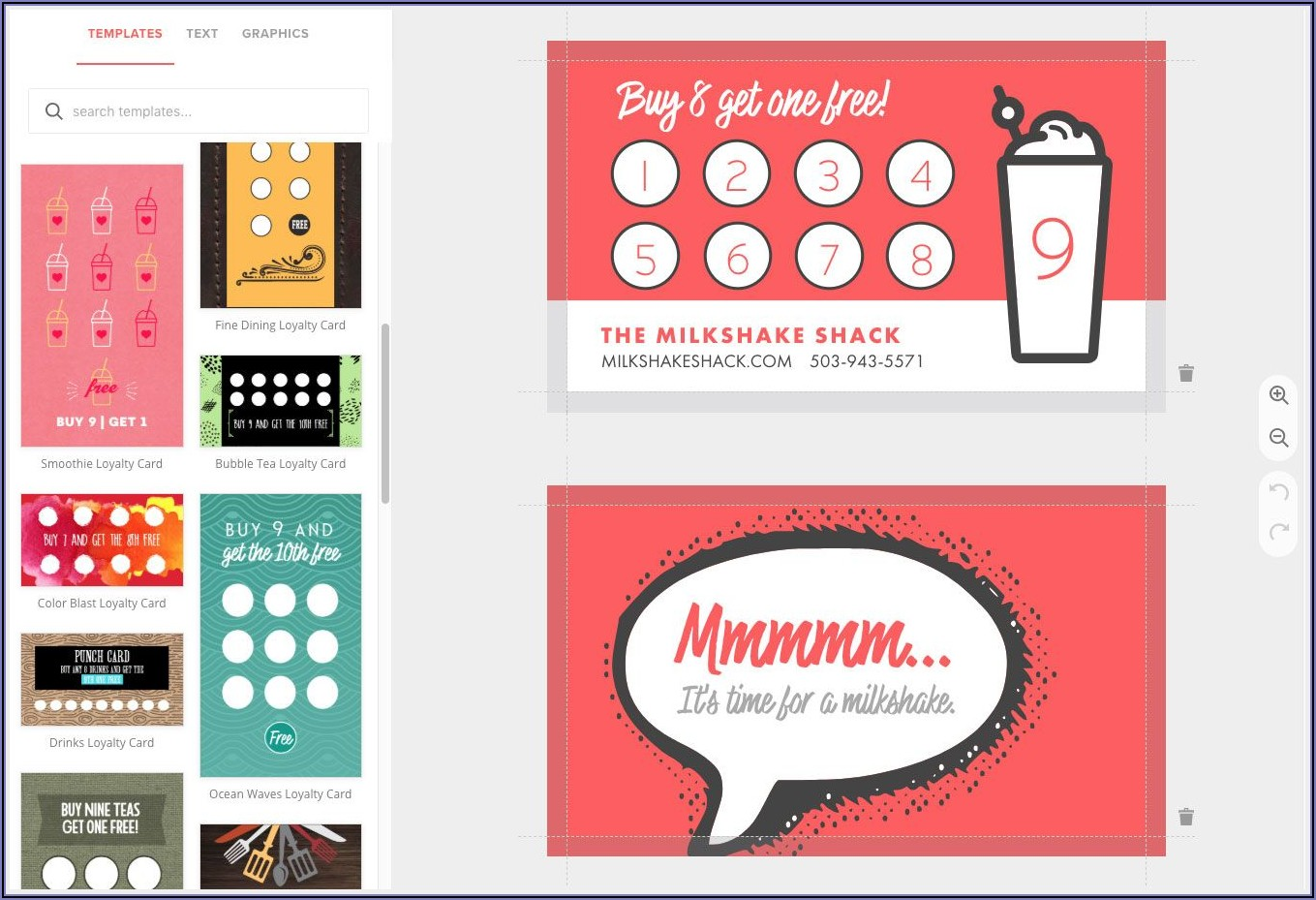 Loyalty Card Template Free Download