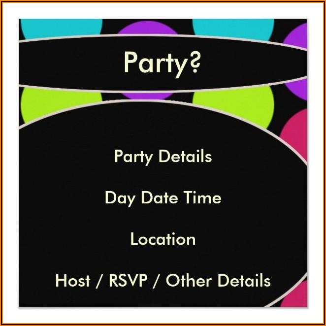 Mans 50th Birthday Party Invitations