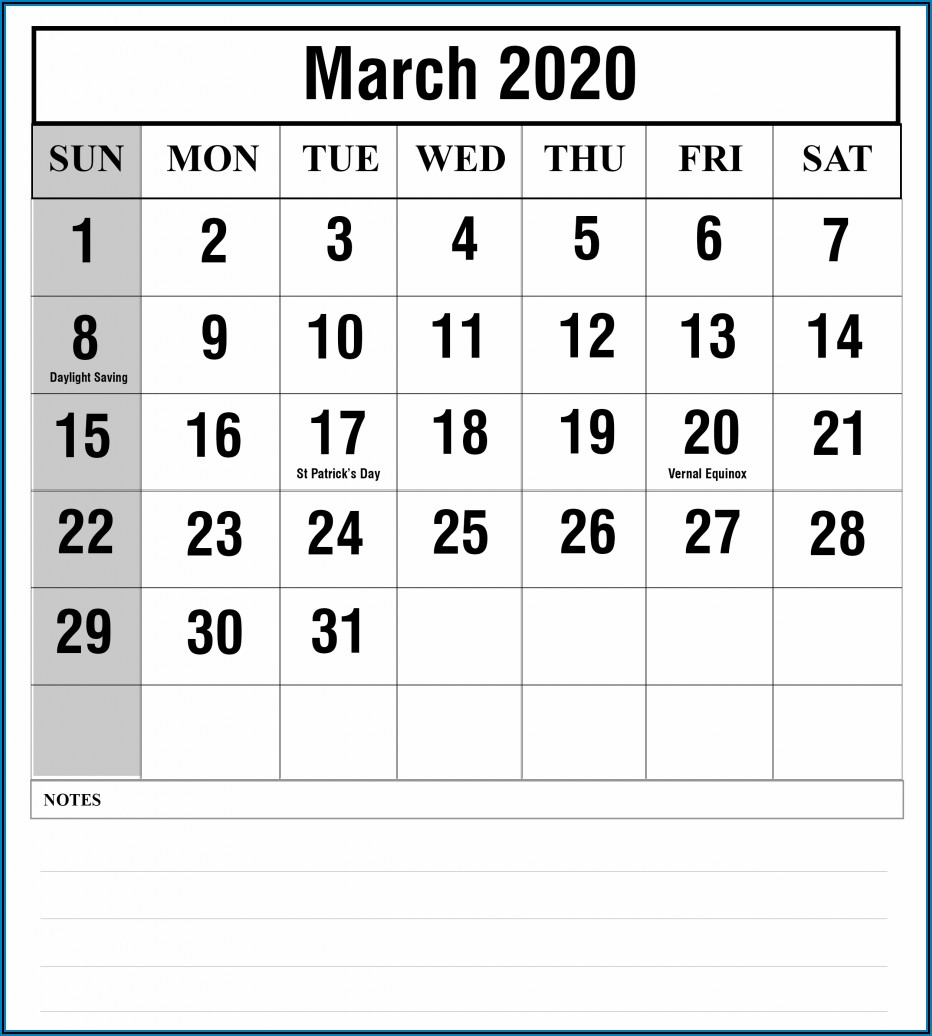 Marketing Campaign Calendar Template Free
