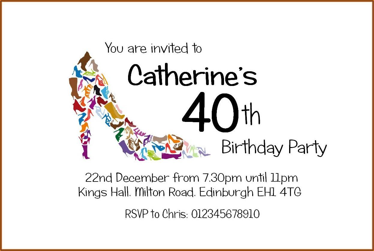 Mens 50th Birthday Invitations