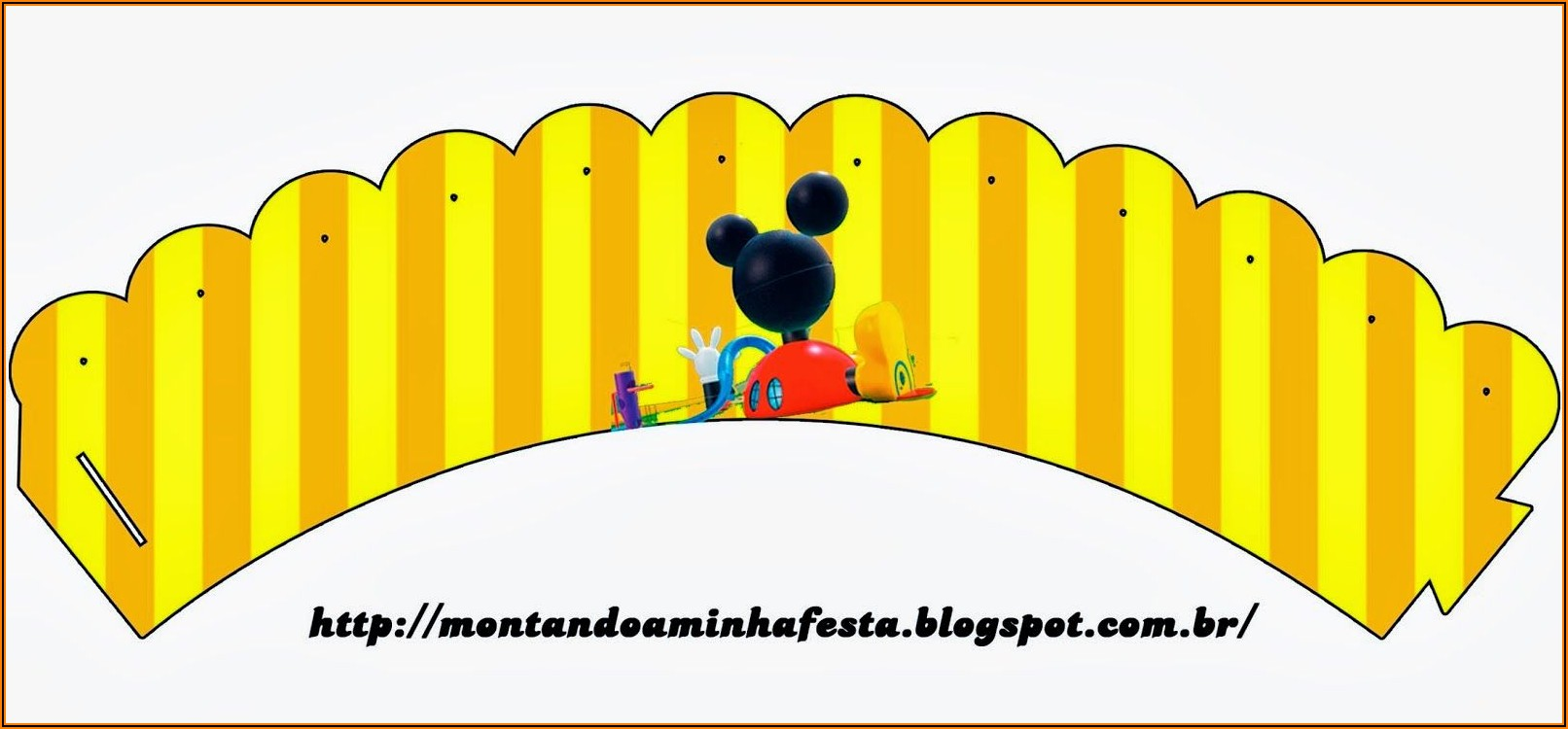 Mickey Mouse Clubhouse Birthday Party Free Printables