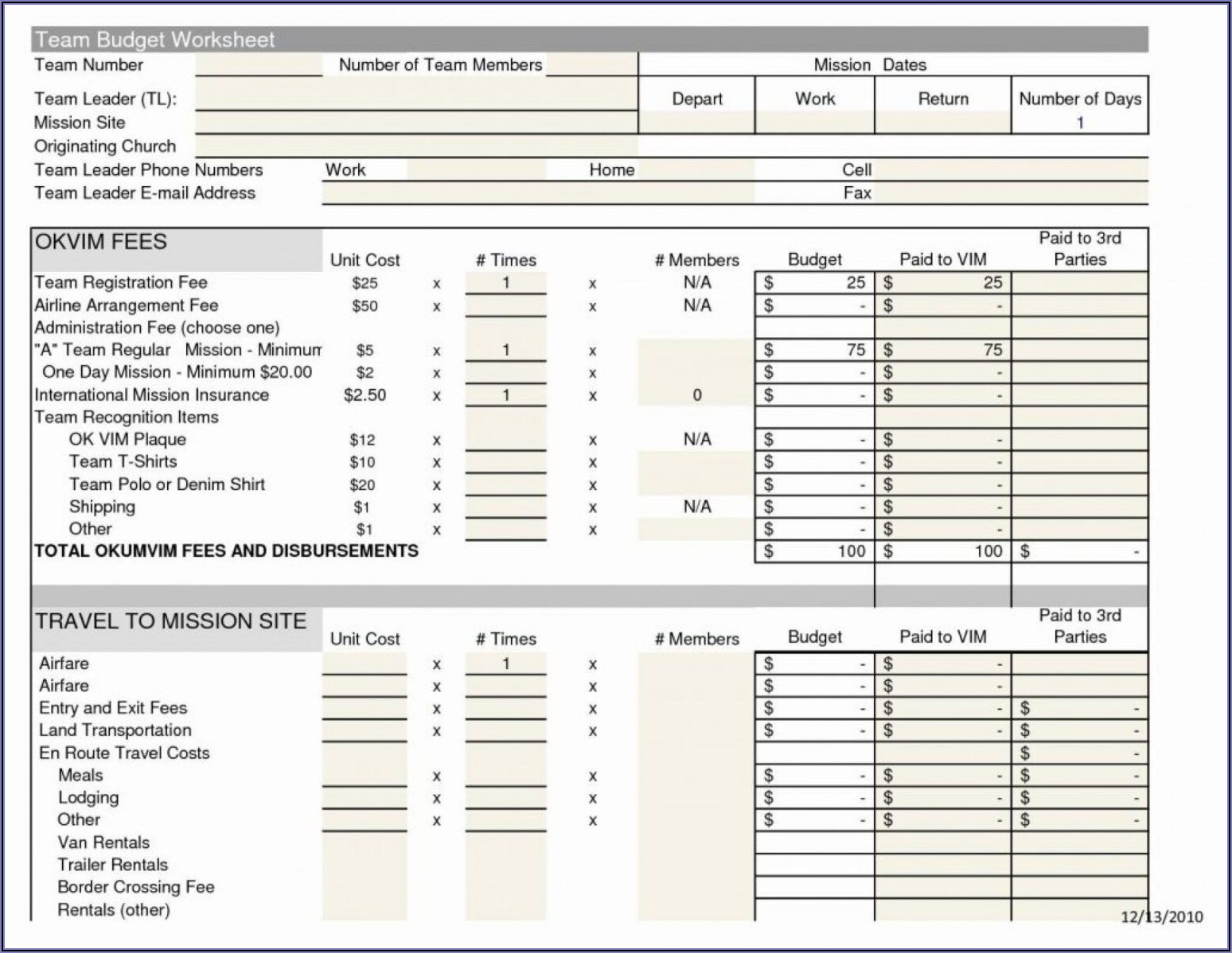 Monthly Report Dashboard Template