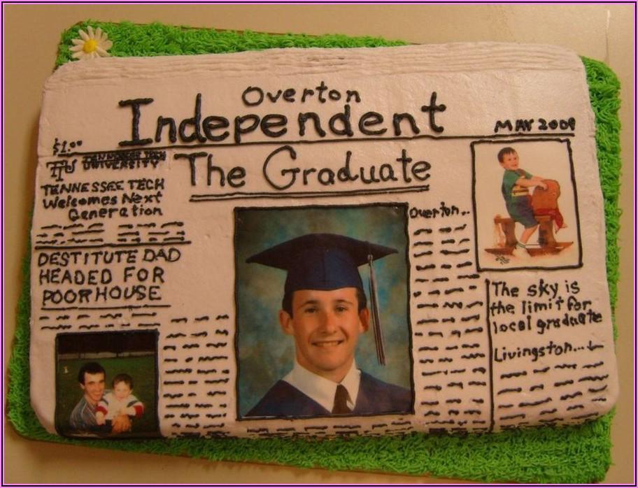 Newspaper Graduation Announcement Examples