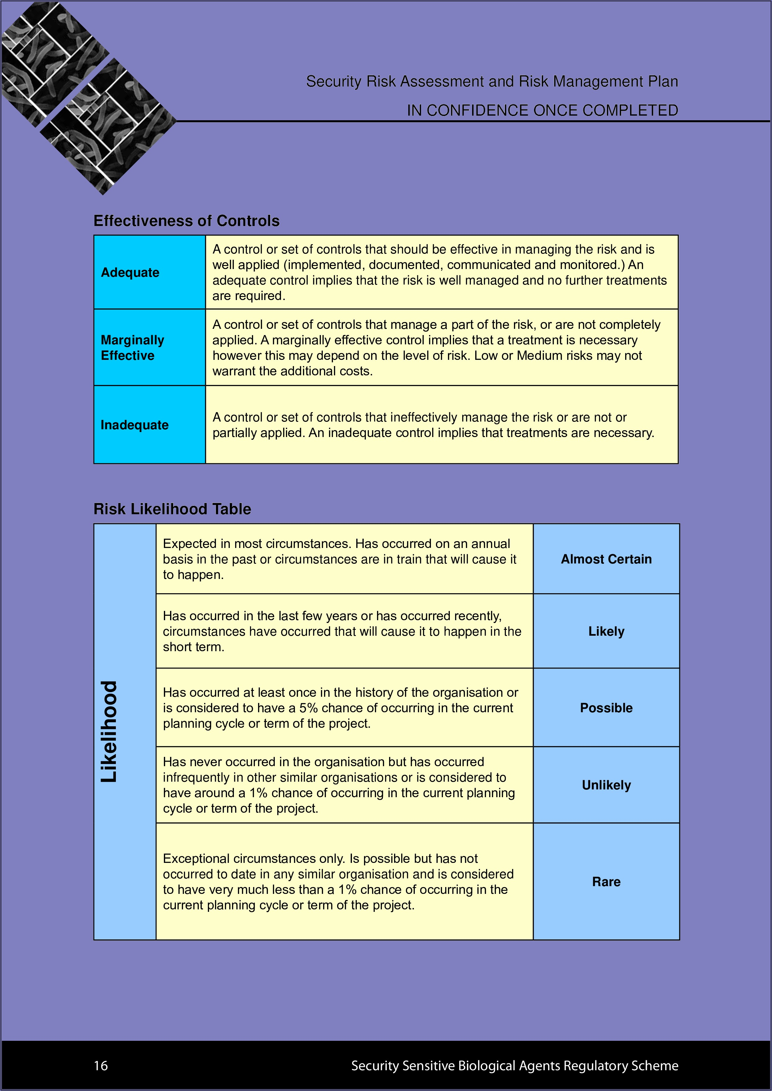 Nist Security Management Plan Template