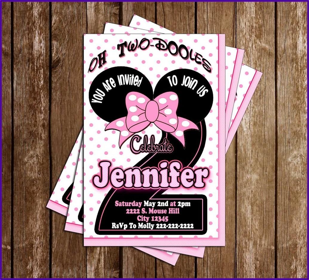 Oh Twodles Birthday Invitations