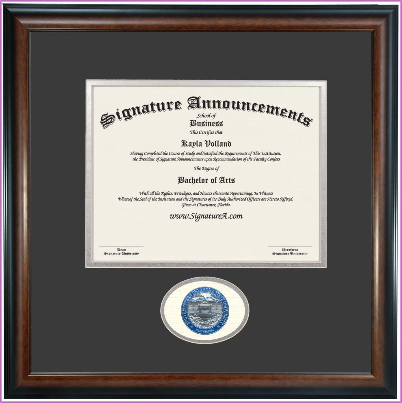 Oklahoma State Graduation Announcements