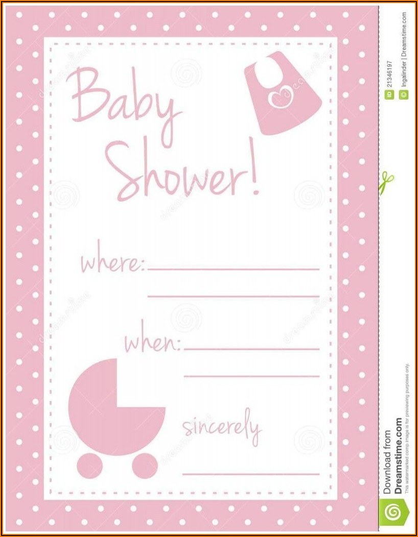 Online Baby Shower Invitation Card Maker With Photo