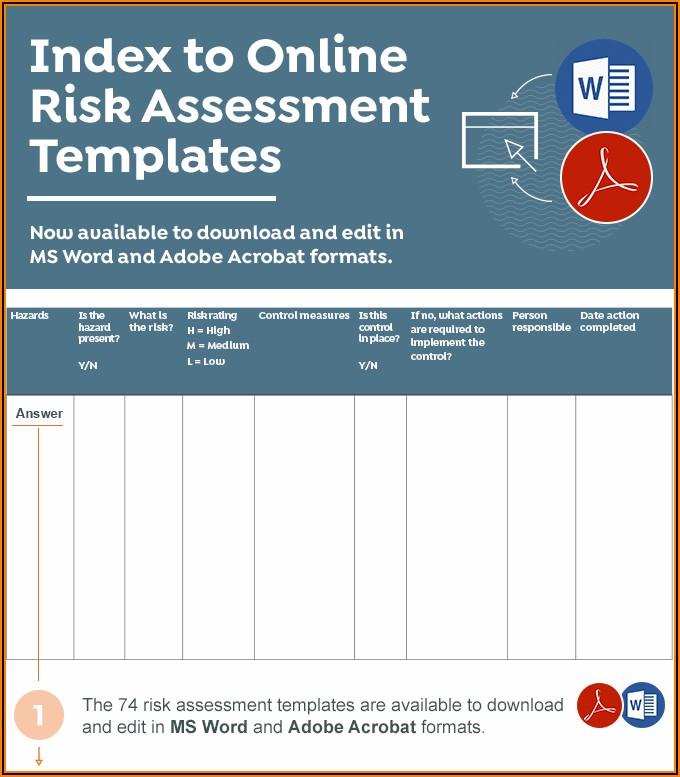 Outdoor Event Risk Assessment Template