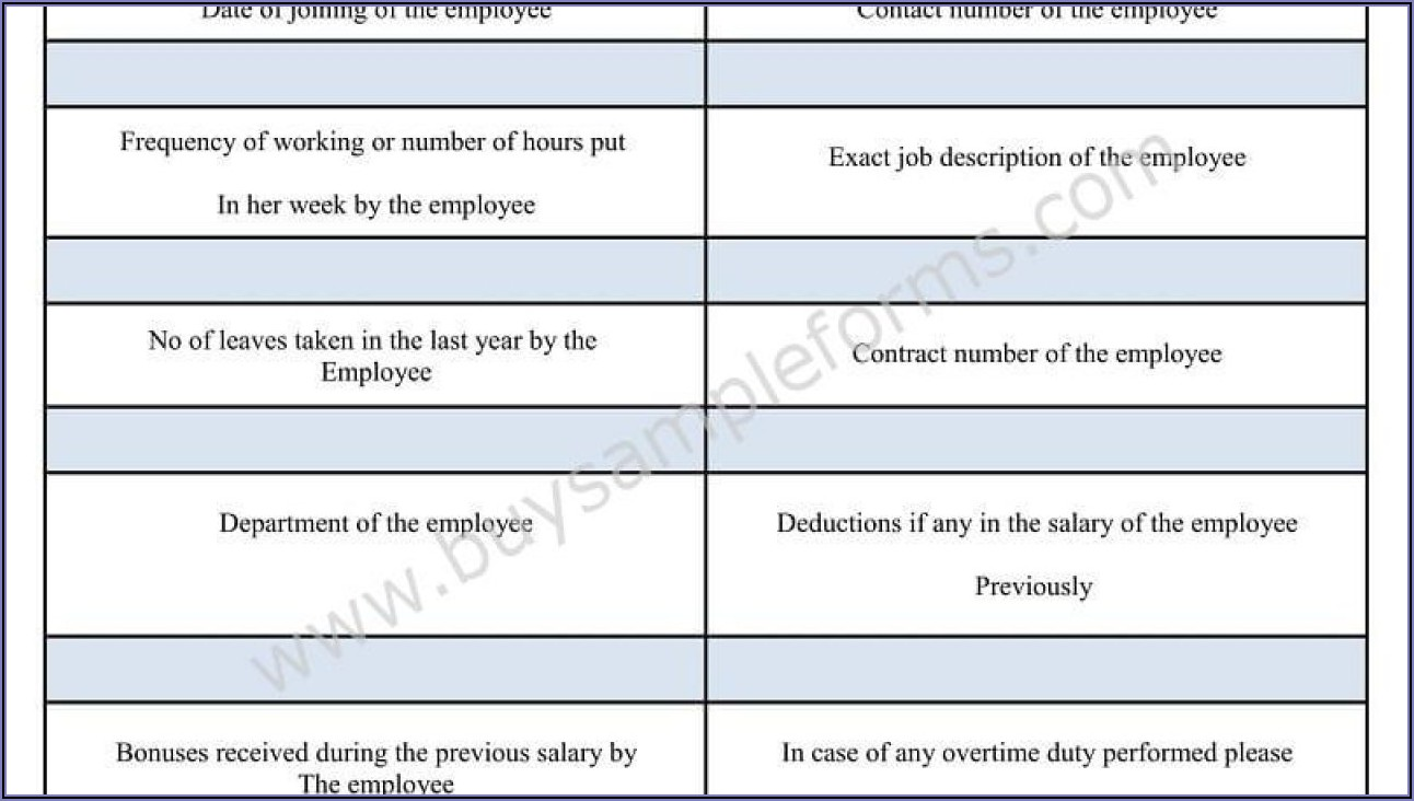 Payroll Deduction Form Sample