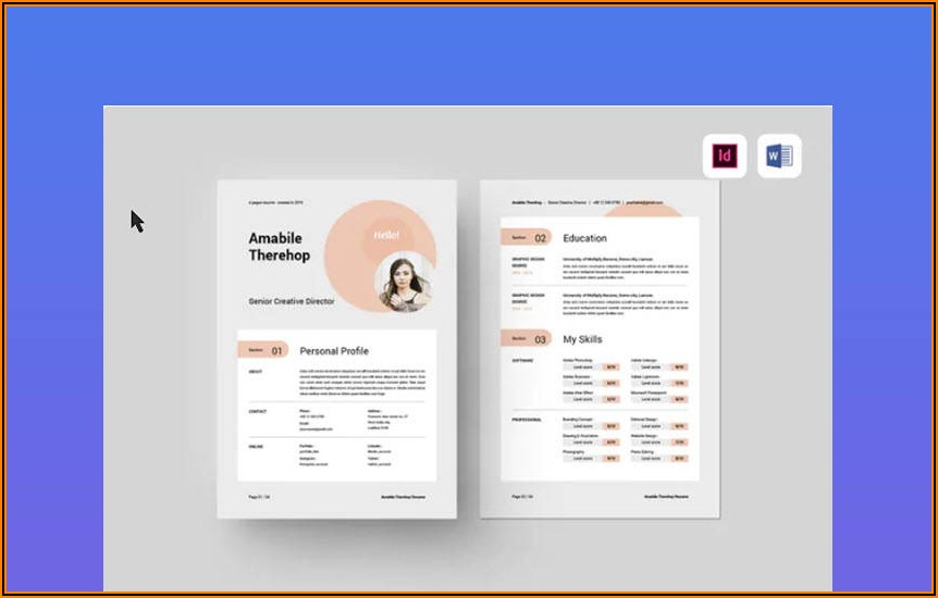Personal Trainer Website Template Free Download