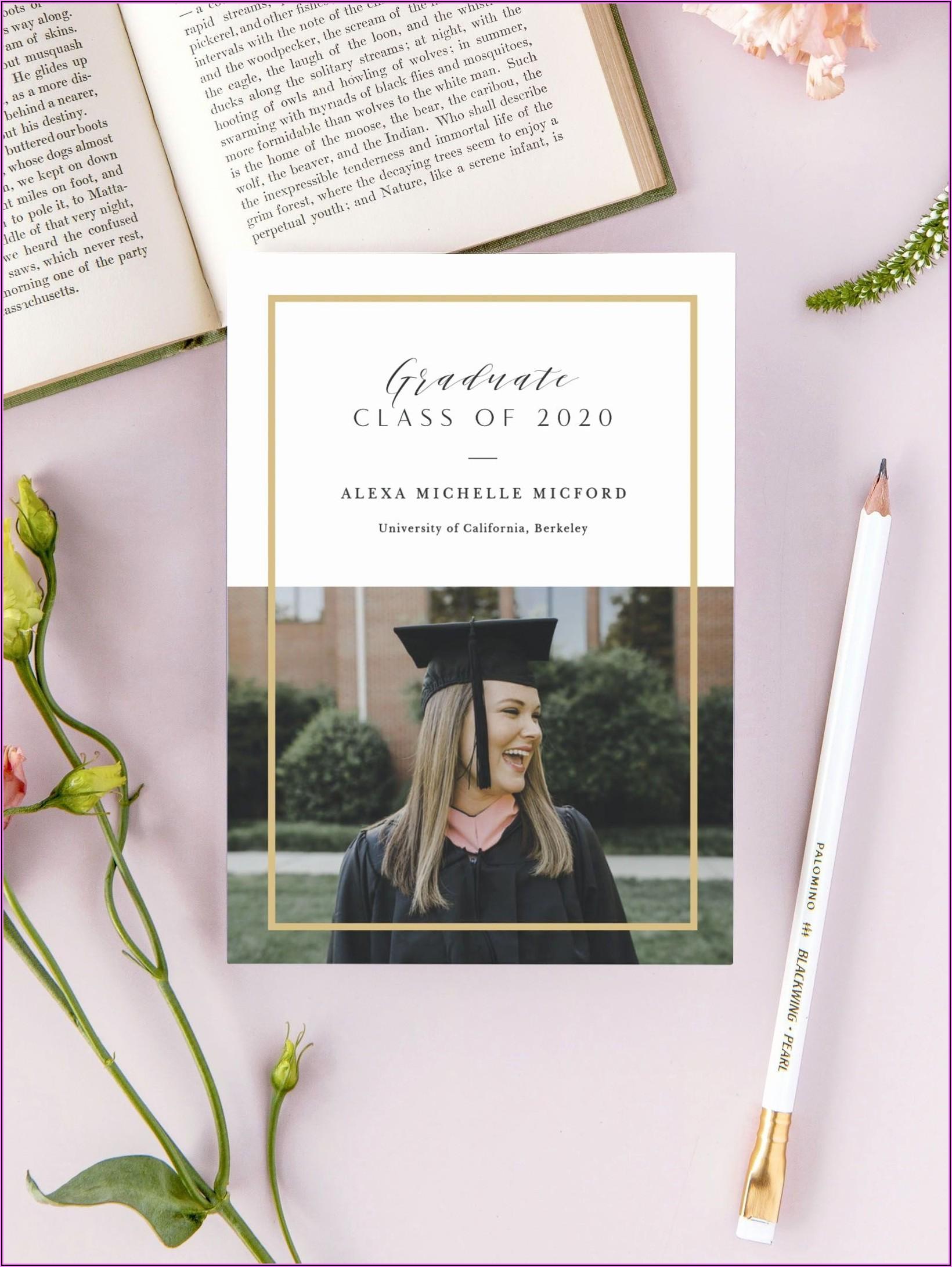 Pinterest College Graduation Announcements