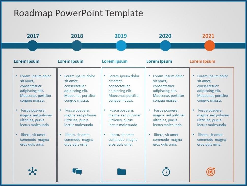 Powerpoint Roadmap Template