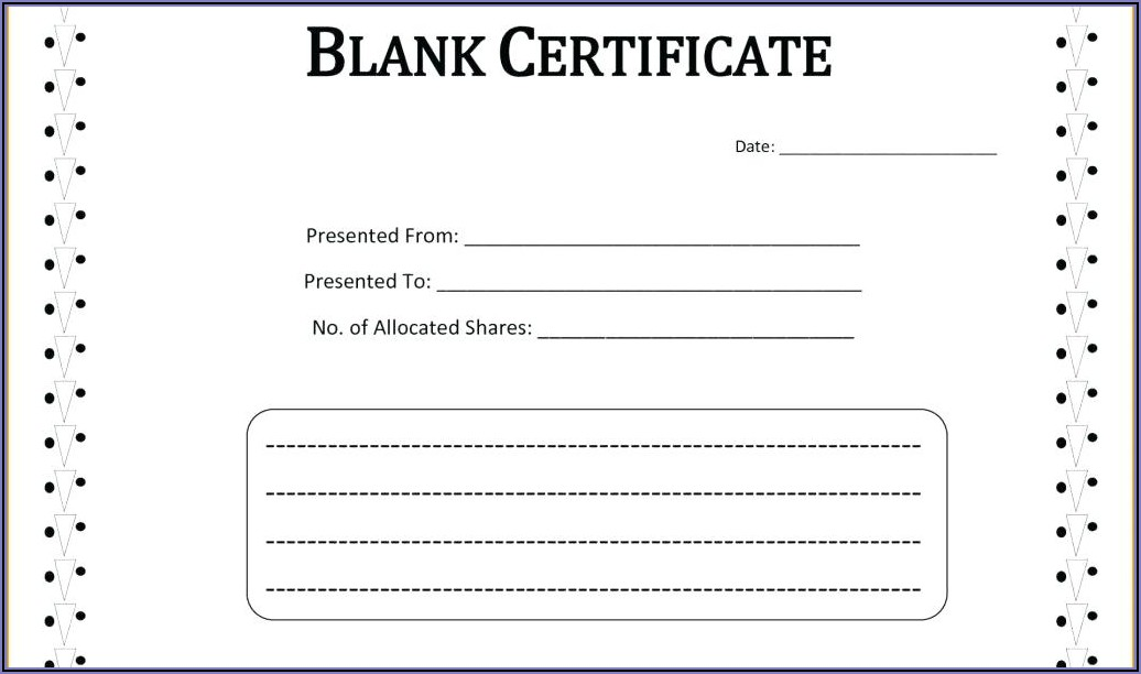 Printable Fake Marriage Certificate Template
