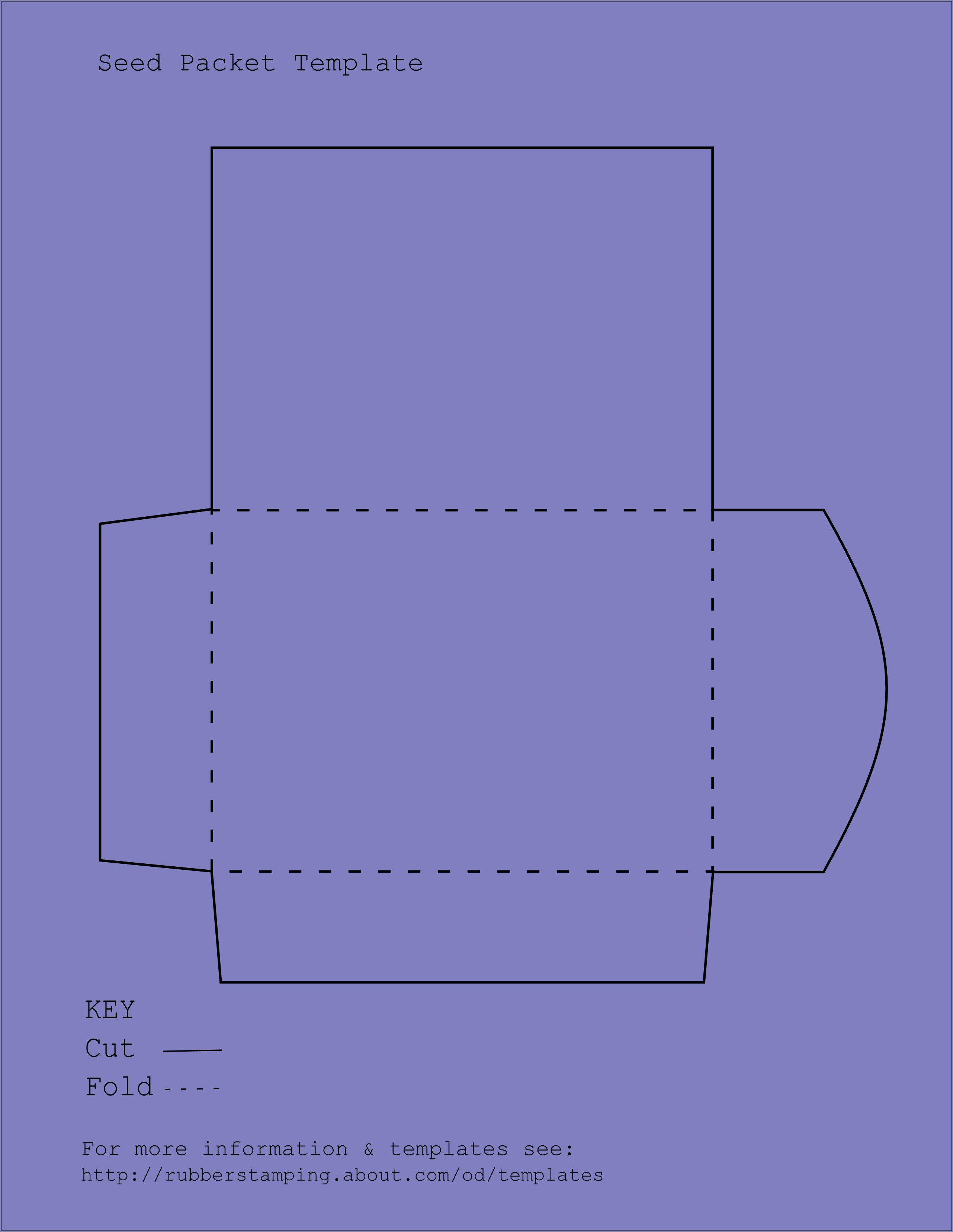 Printable Tea Bag Envelope Template