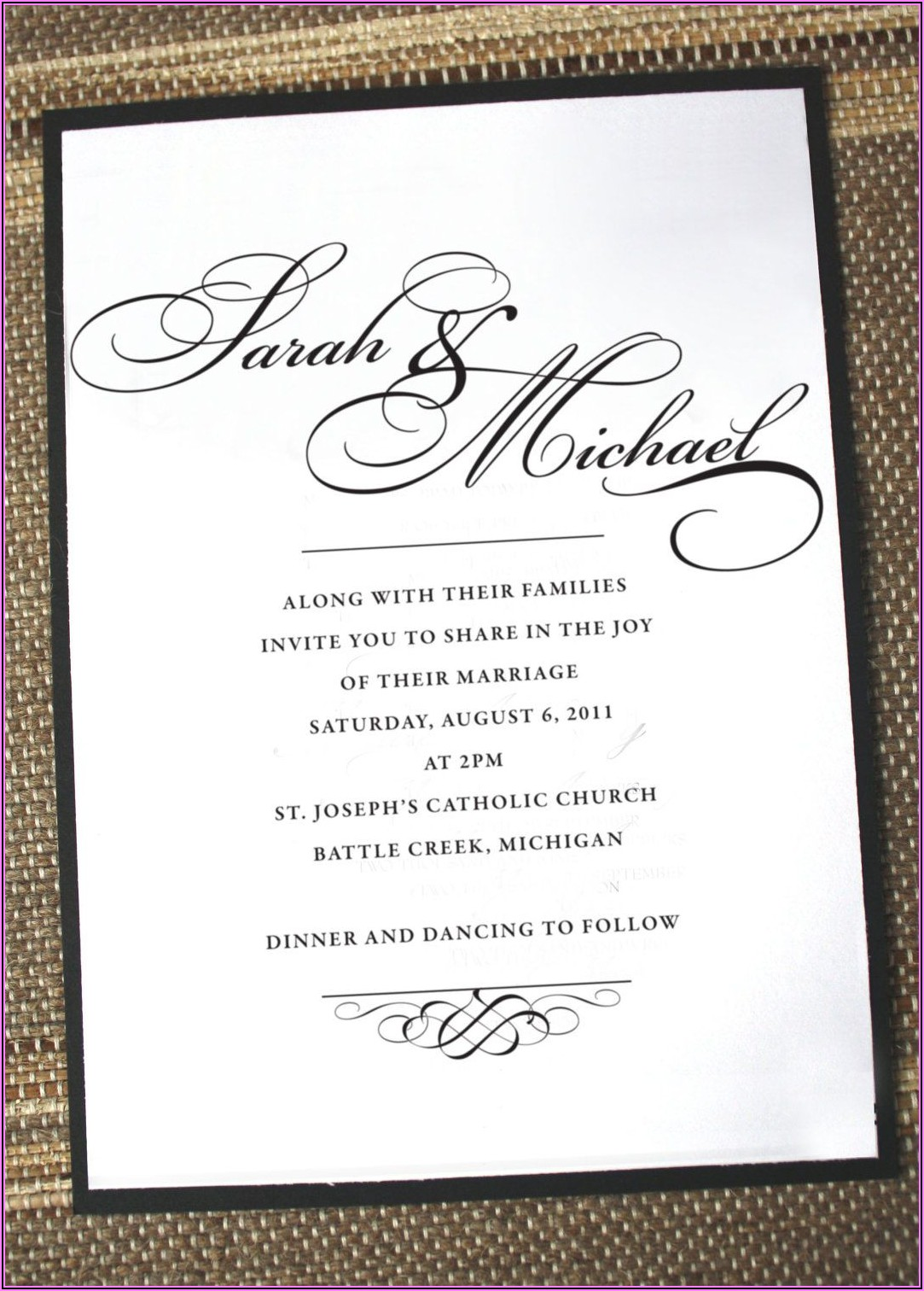Proper Wedding Announcement Wording
