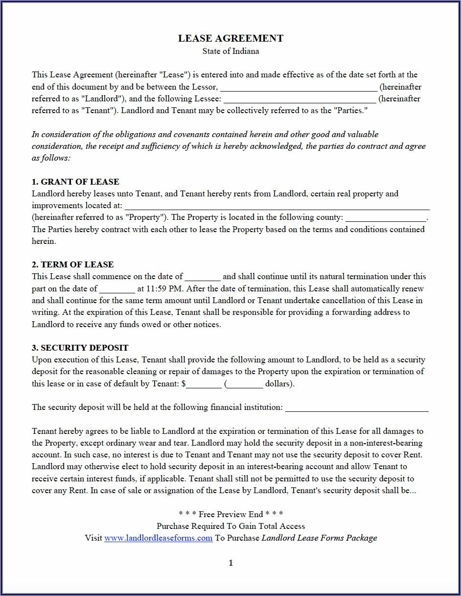 Property Management Agreement Template Word