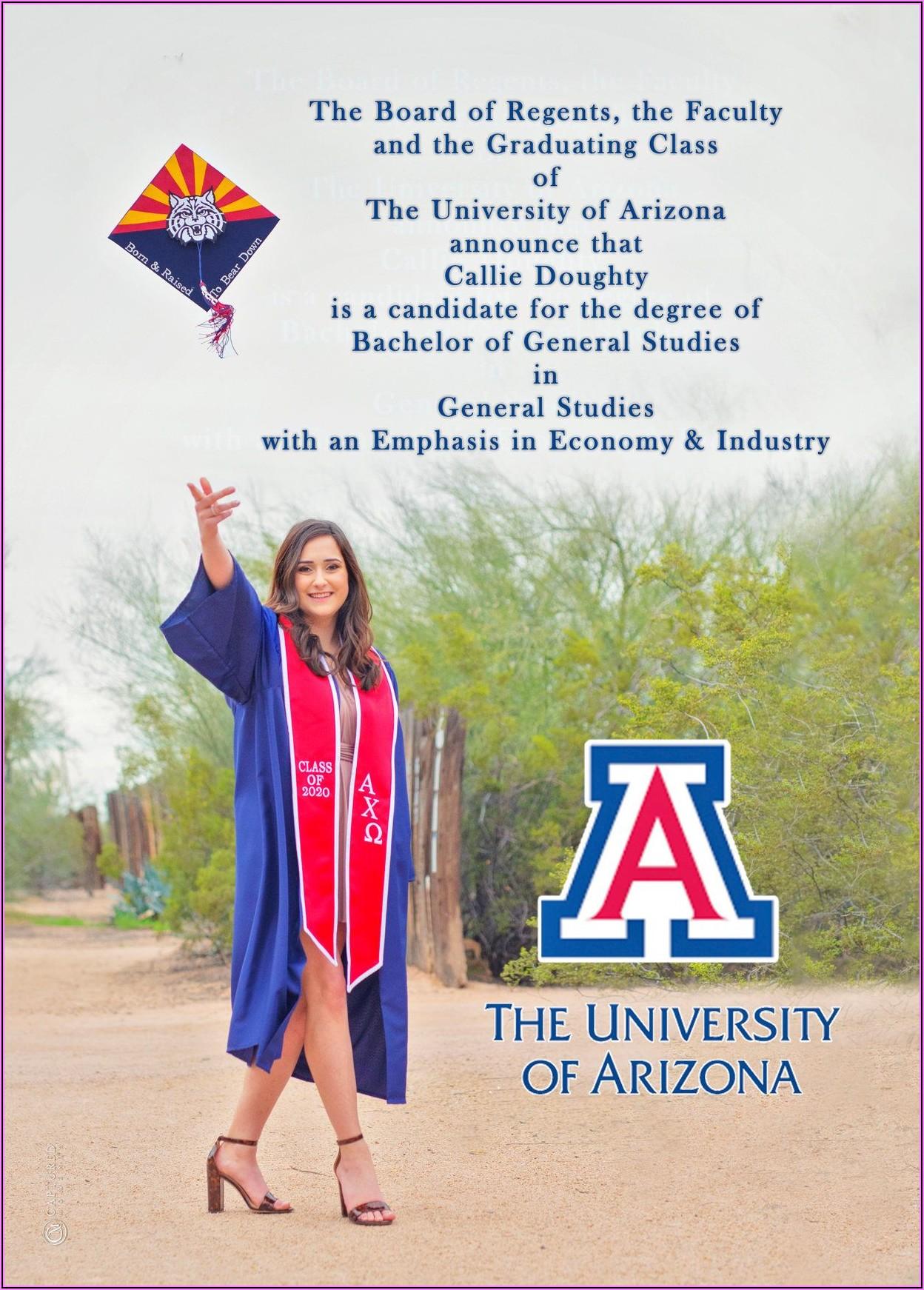 Regent University Graduation Announcements