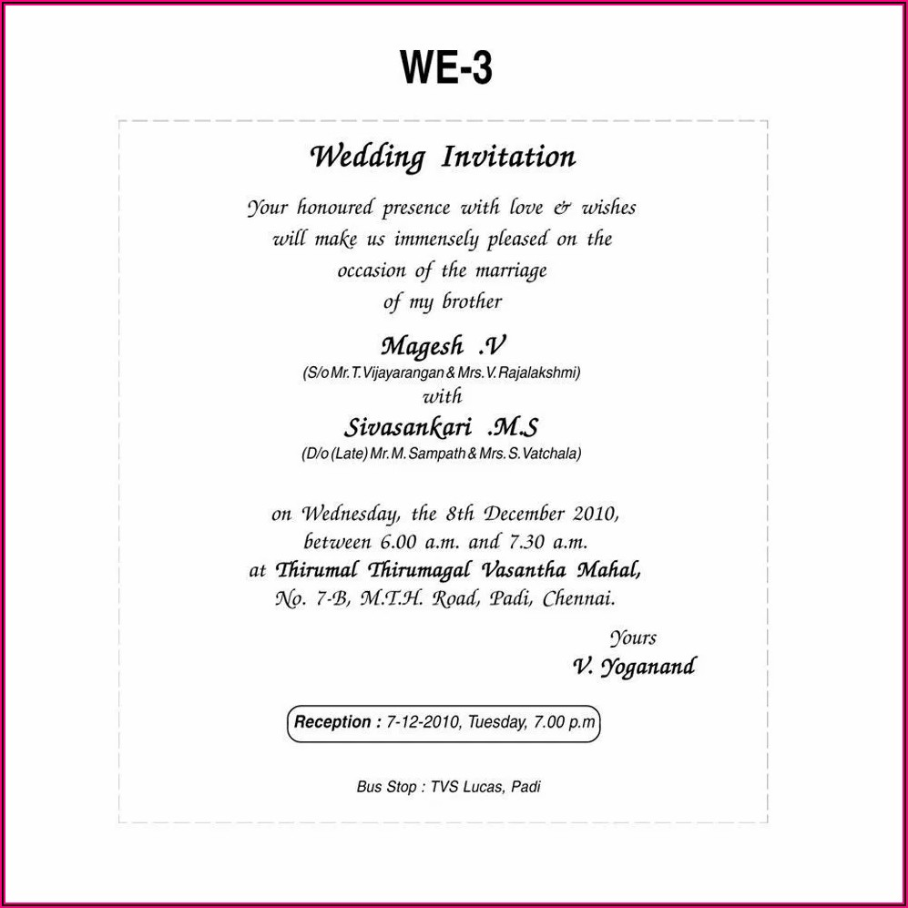 Religious Wedding Invitation Wording Couple Hosting
