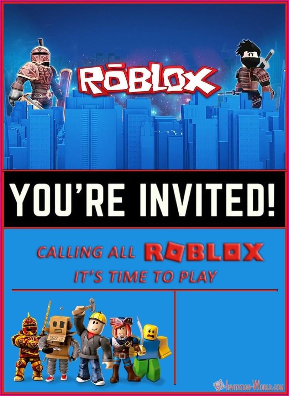 Roblox Birthday Free Printables