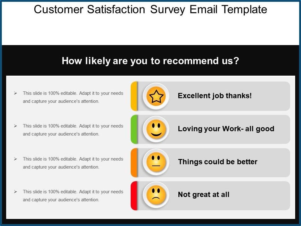 Sample Customer Satisfaction Survey Email