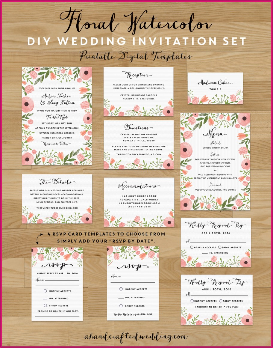 Save The Date Invitations Free